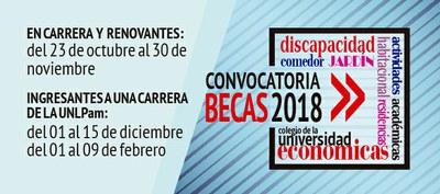 Becas 2018